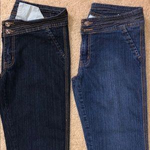 JUNIORS - 2 Jeans - Size 11